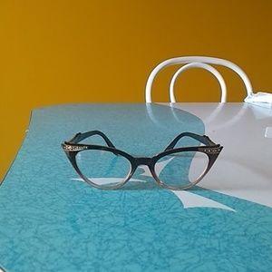 Pinup cat eyeglasses
